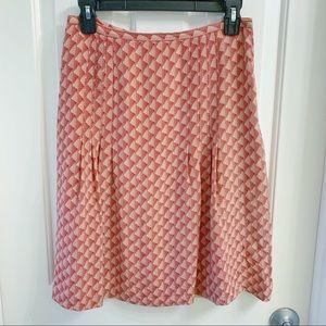 The LOFT Silk Skirt Size 4